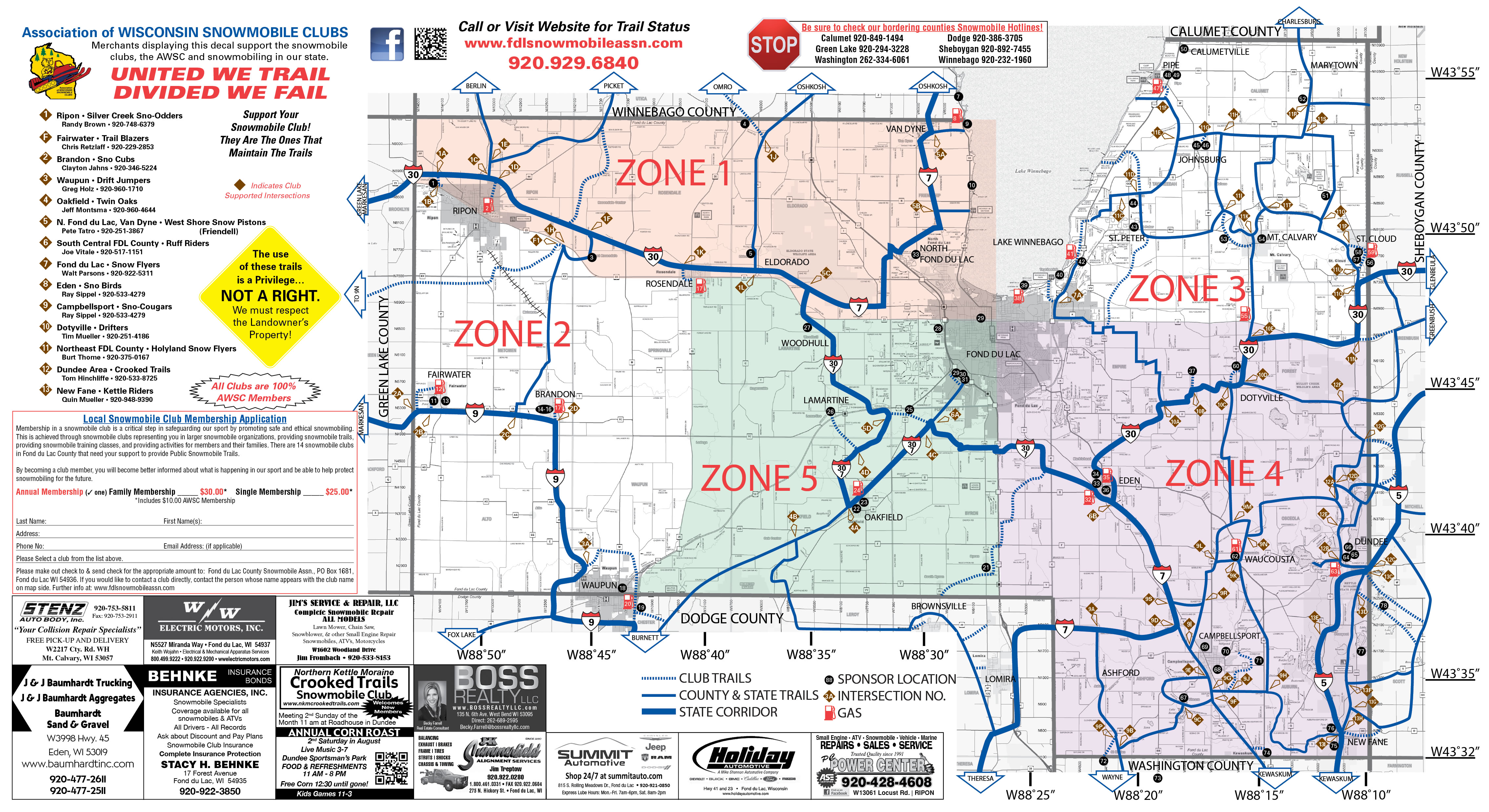 Fond Du Lac Zip Code Map.County Maps Waupun Lodging Attractions Waupun Drift Jumpers